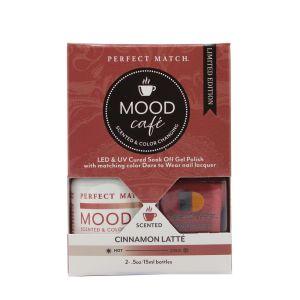 Zestaw lakierów klasyczny i hybrydowy PMMS005 Mood Cafe Cinnamon Latte