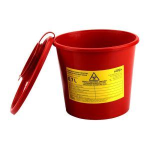 Pojemnik / wiaderko na odpady medyczne 0,7L