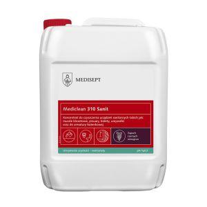 MEDICLEAN MC 310 - CZARNY WINOGRON Preparat do mycia urządzeń sanitarnych 1L