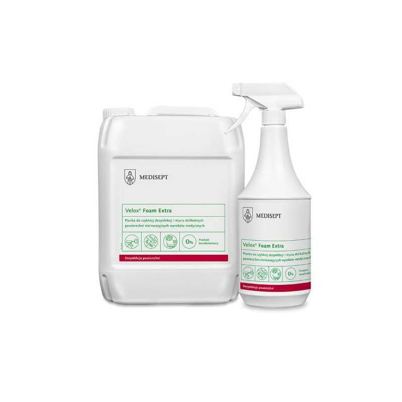 Pianka do dezynfekcji powierzchni 5L Velox foam extra bezalkoholowa Medi-Line