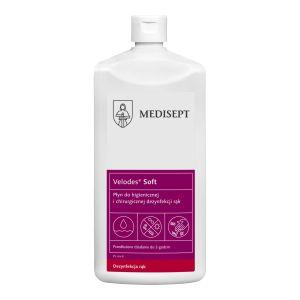 Medi-Line VELODES SOFT Płyn alkoholowy do dezynfekcji rąk 1 L