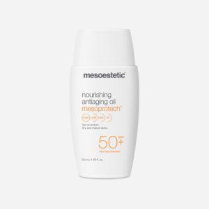 Olejek przeciwsłoneczny do skóry dojrzałej SPF50 50ml Mesoestetic