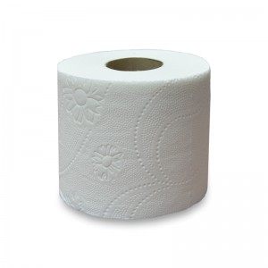 Papier toaletowy biały trzywarstwowy mocny 8 rolek 27,5m/rolka po 250 listków