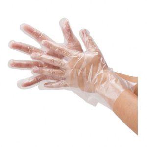 Rękawiczki zrywki jednorazowe PCV 100 sztuk