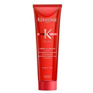 Zestaw dla ochrony przeciwsłonecznej włosów Kerastase Soleil: kąpiel 250ml + krem 150ml