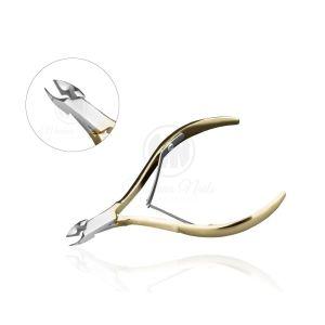 Cążki do skórek złote 6mm Modena Nails