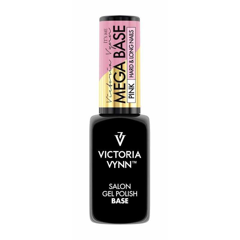 Mega Base Hard & Long Nails Pink 8 Ml Victoria Vynn