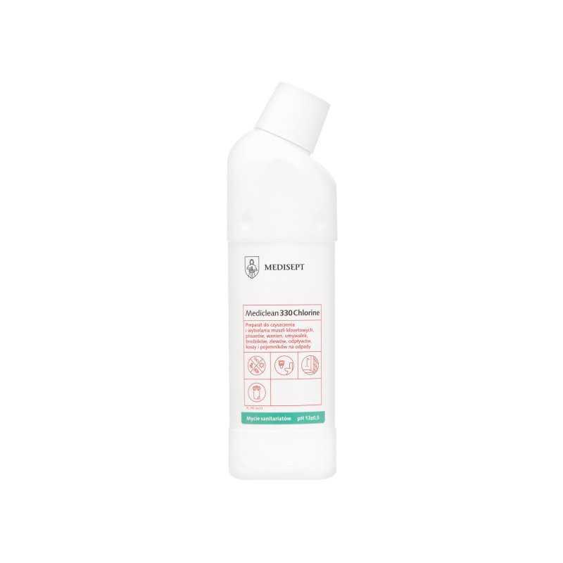 MEDICLEAN MC 330 - Wybielający żel do czyszczenia i wybielania sanitariatów 750 ML