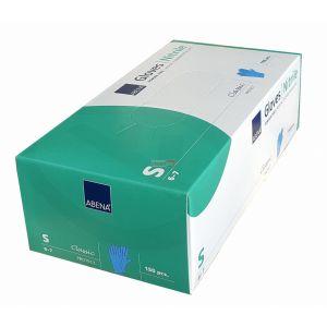 Rękawice nitrylowe NIEBIESKIE ABENA Nitril Blue a'150 r. S