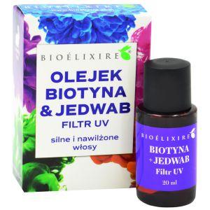 Jedwab do włosów z witaminą A 20 ml Bioelixire