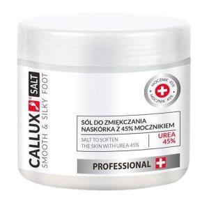 Sól do zmiękczania naskórka z 45% mocznikiem 250g Callux