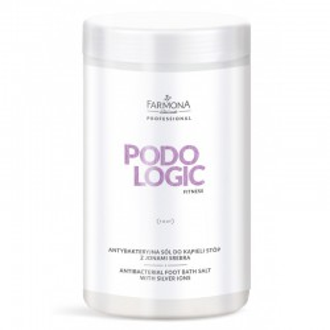 Podologic Fitness Antybakteryjna sól do kąpieli stóp z jonami srebra 1400g