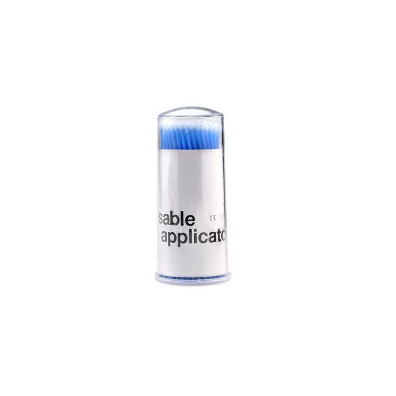 Mikroszczoteczki aplikatory do przedłużania rzęs 2,5mm 100szt