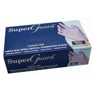 Rękawiczki nitrylowe fioletowe bezpudrowe Super Guard 100szt