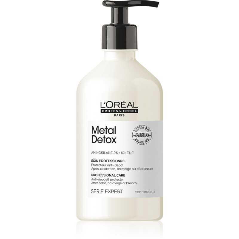 L'OREAL PROFESSIONNEL METAL DETOX Odżywka do włosów farbowanych 500ml