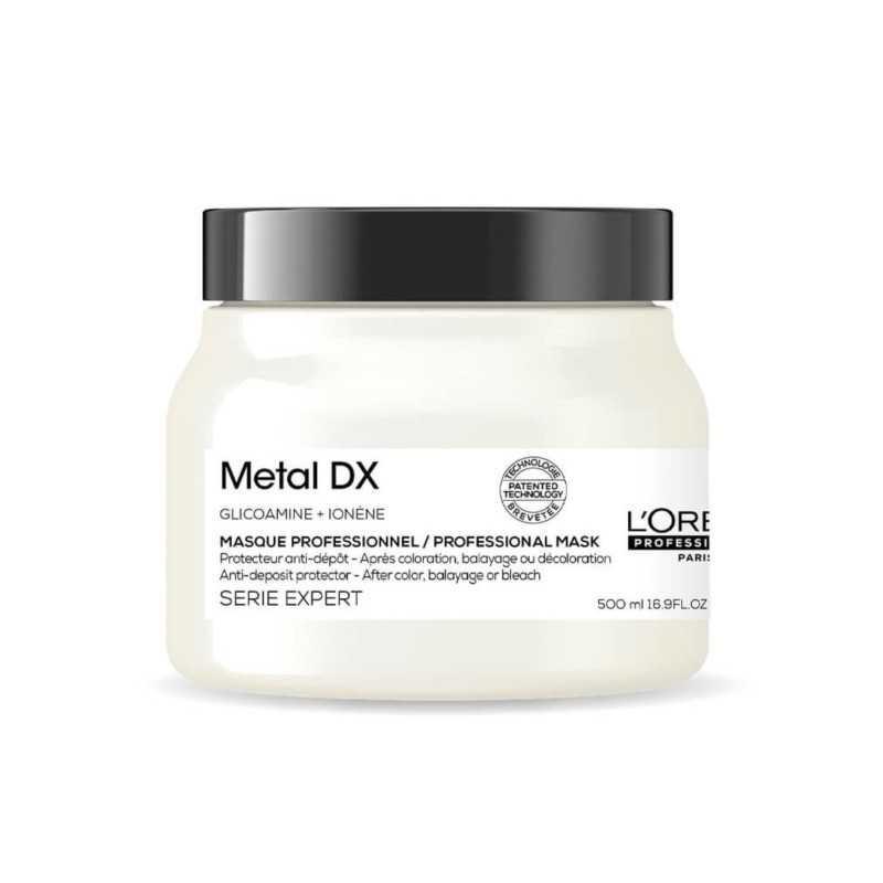 L'oreal Metal Detox Maska zabezpieczająca włosy po koloryzacji i dekoloryzacji 500ml
