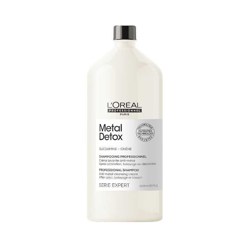L'oreal Serie Expert Metal Detox szampon oczyszczający do włosów po farbowaniu 1500 ml