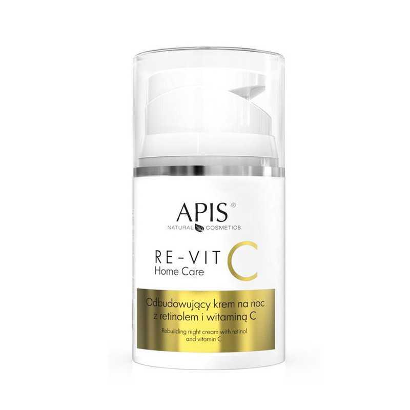APIS RE-VIT C Odbudowujący krem na noc z retinolem i witaminą C 50ml