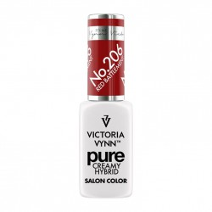 Victoria Vynn Lakier hybrydowy Pure Creamy 206 Red Battlement 8ml