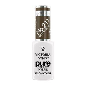 Victoria Vynn Lakier hybrydowy Pure Creamy 211 Green Pillar 8ml